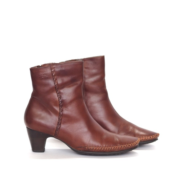 PIKOLINOS Shoes - PIKOLINOS || beautiful cognac leather ankle boots